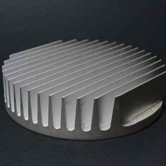 DISIPADOR CIRCULAR 132mm PLATEADO