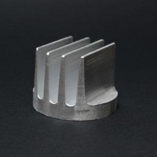 DISIPADOR CIRCULAR 44mm DORADO C/ALETAS