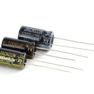 CAP. ELECTROLITICO 105ºC 1000uF 6.3V LOW ESR
