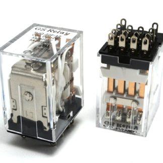 RELAY 4 INV. 5 AMP. 100 VAC
