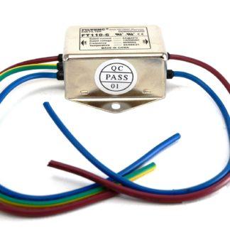 FILTRO DE LINEA 6Amp 250V CON CABLES