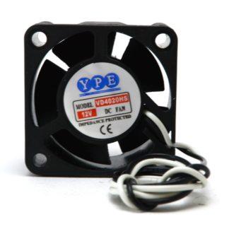FAN 40x40x20 12VDC BUJE 2 CABLES