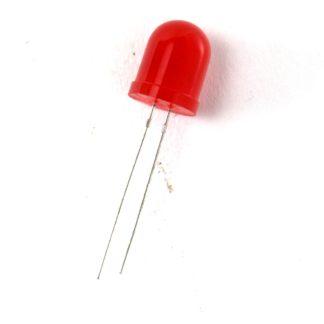 LED 10mm ROJO DIFUSO