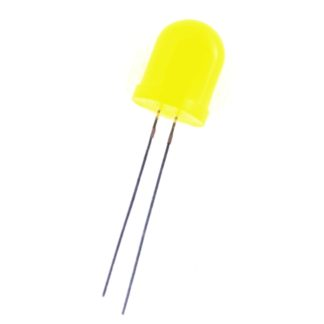 LED 10mm AMARILLO DIFUSO