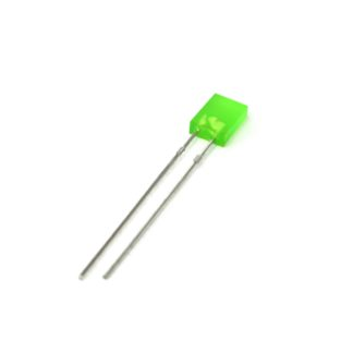 LED RECTANGULAR 2x5mm VERDE