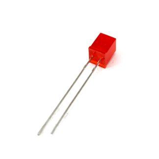 LED CUADRADO 5x5mm ROJO DIFUSO