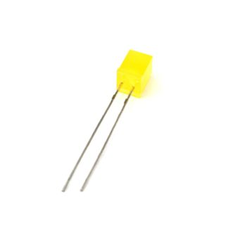 LED CUADRADO 5x5mm AMARILLO DIFUSO