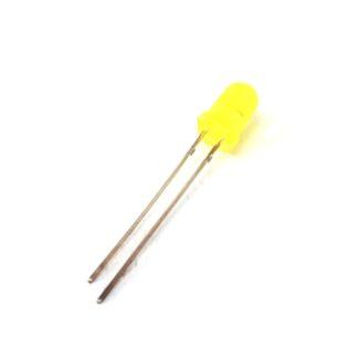 LED 5mm AMARILLO DIFUSO