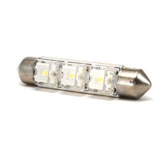 LAMPARA BLANCA 10x44mm C/3 LED PIRAÑA