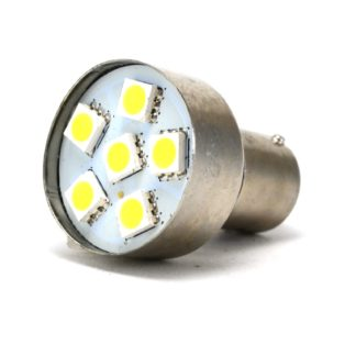LAMPARA DE 6 LED SMD BLANCOS (1 POLO)