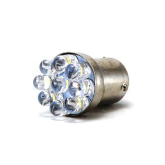 LAMPARA 9 LED BLANCOS DOS POLOS P/AUTO