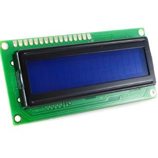 LCD 2x16 C/BACKLIGHT AZUL CARACTER BLANCO