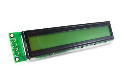 LCD 2x16 AZUL 122x44mm CARACTER GRANDE