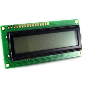 LCD 2x16 CON BACKLIGHT AZUL CARACTER NEGRO