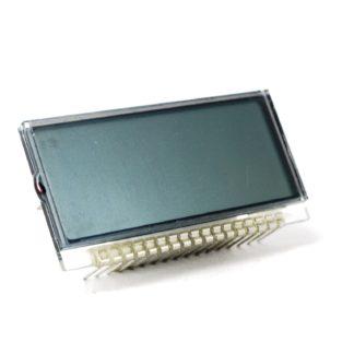 DISPLAY LCD 4 DIGITOS TIPO RELOJ 40x17mm