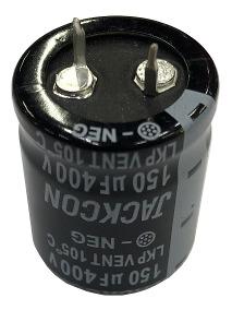 CAP. ELECTROLITICO BLINDADO 150uF 400V