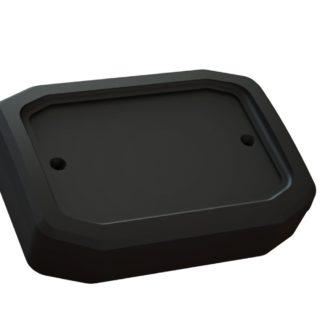 GABINETE PLASTICO 100x70x30mm FACETADO