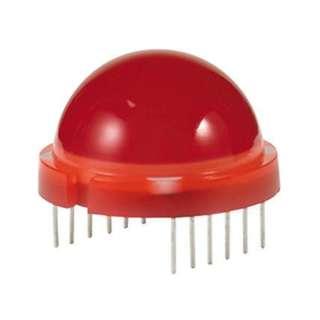 LED 20mm ROJO DIFUSO