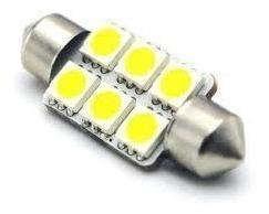 LAMPARA BLANCA 15x31mm C/6 LED SMD