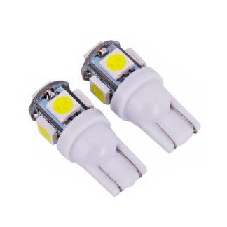 LED P/AUTO FORMATO T10 5 LED BLANCOS