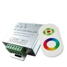 CONTROL REMOTO PARA RGB 12V a 24V 144W
