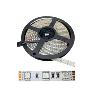 TIRA FLEXIBLE INTERIOR 60 LED 5050 RGB