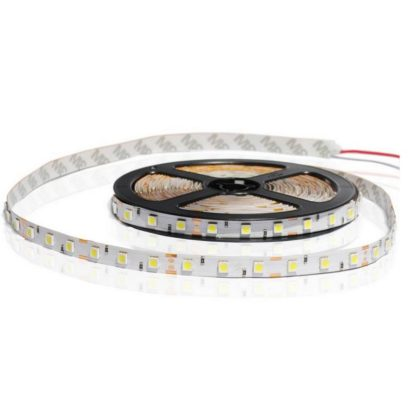 TIRA FLEXIBLE INTERIOR 60 LED 5050 BLANCO FRIO
