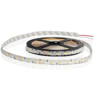 TIRA FLEXIBLE INTERIOR 60 LED 5050 BLANCO CALIDO