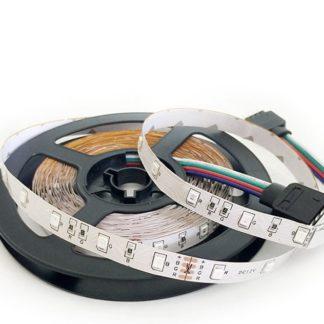 TIRA FLEX. 60 LED 3528 RGB A PRUEBA DE AGUA
