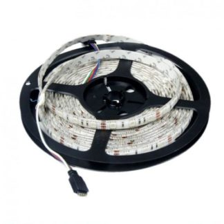 TIRA FLEXIBLE 60 LED 5050 A PARA 24V IP65 RGB