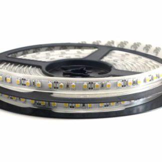 TIRA FLEXIBLE 120 LED 3528 SUMERGIBLE BLANCO CALID